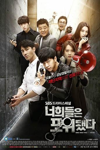 """CastDrama Korea You Are All Surrounded"""
