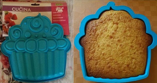 Produkttest La CUCINA Cupcake-Silikonbackform