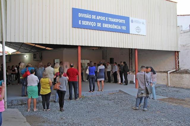 Divisão de Transporte e Serviço 192 de Registro-SP ganha espaço adequado para ambulâncias e agendamento