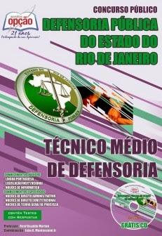 Concurso Defensoria RJ - edital 2019