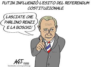 putin, biden, referendum costituzionale, ingerenze estere, vignetta, satira