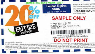 free Bed Bath and Beyond coupons for march 2017