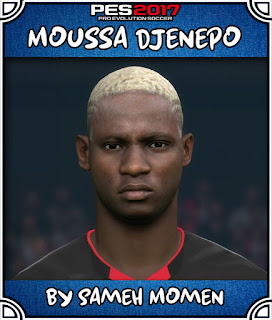 PES 2017 Faces Moussa Djenepo by Sameh Momen