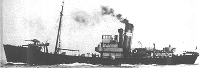 HMT Bedfordshire, sunk on 11 May 1942 worldwartwo.filminspector.com