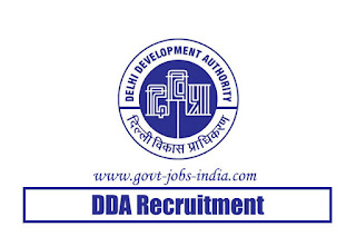 DDA Junior Secretariat Assistant Recruitment 2020