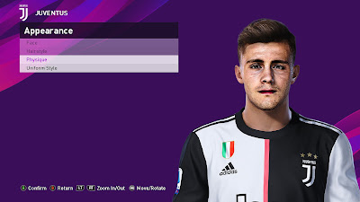 PES 2020 Faces Giacomo Vrioni by Sofyan Andri
