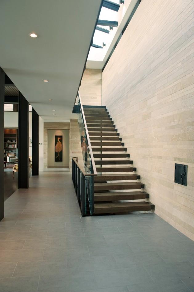 Casas minimalistas y modernas escaleras en interiores for Casas minimalistas modernas interiores