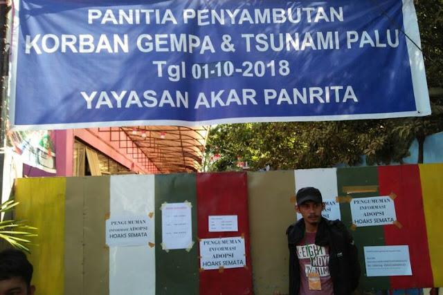 500-an Warga Makassar Ingin Adopsi 84 Anak Korban Bencana Sulteng