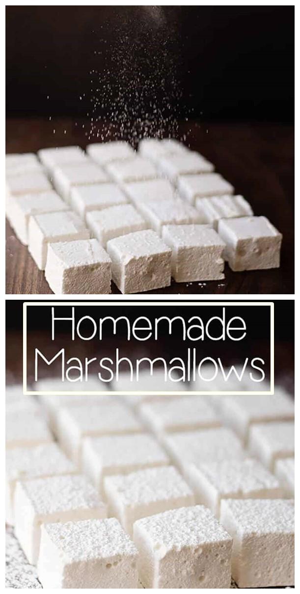 Homemade Marshmallows #Dessertrecipes