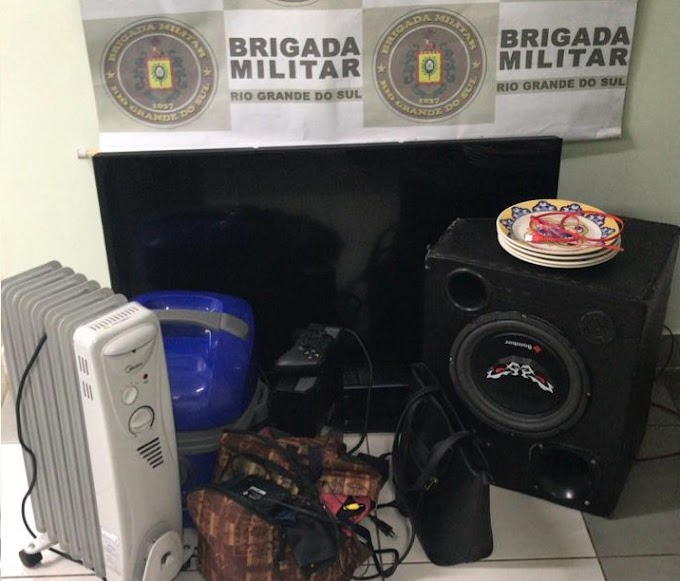 Roubaram uma casa em Esteio e foram presos em Cachoeirinha