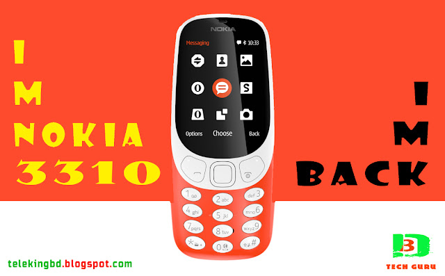 Nokia 3310 (2017) Full Phone Specification & Price In BD