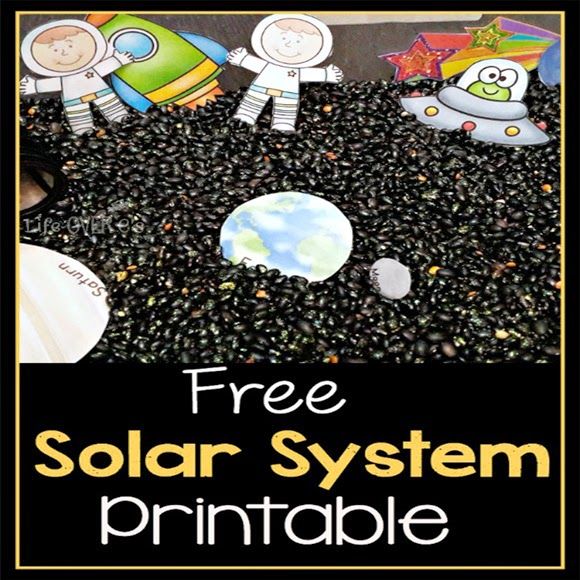 about the solar system printable - photo #26