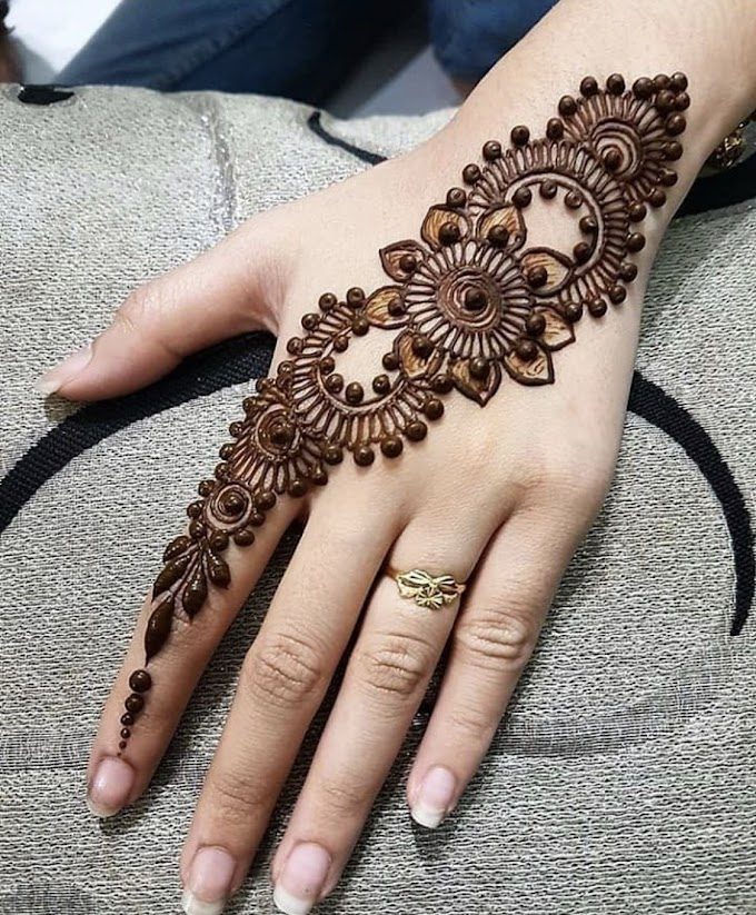Arabic and indian mehndi designs pictures