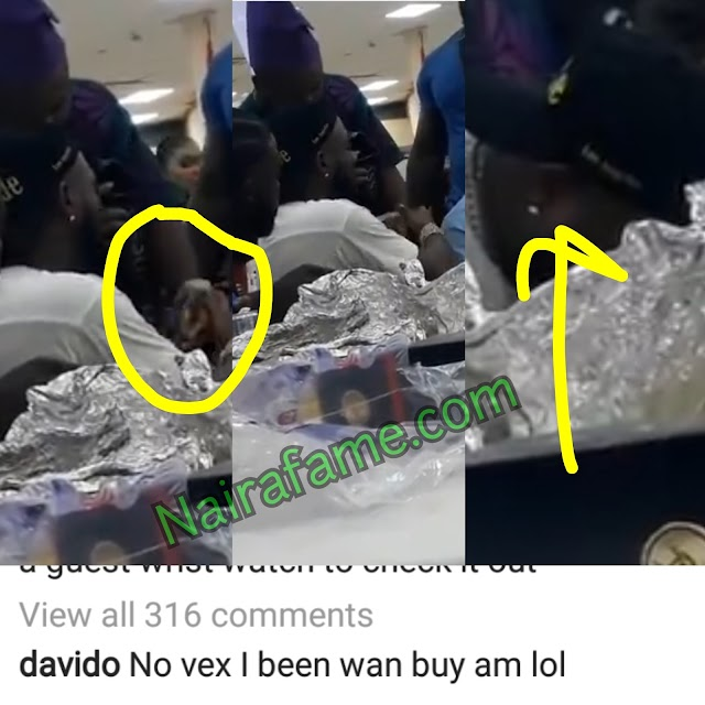 I Admired His Wristwatch Not That I Was Comparing His Wristwatch With Mine - Davido Finally Reacted To Wristwatch Saga. VIDEO