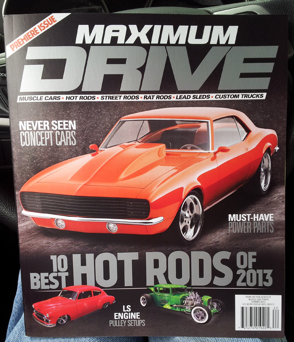 Just A Car Guy New Magazine Premiere Issue On Magazine Stands Right
