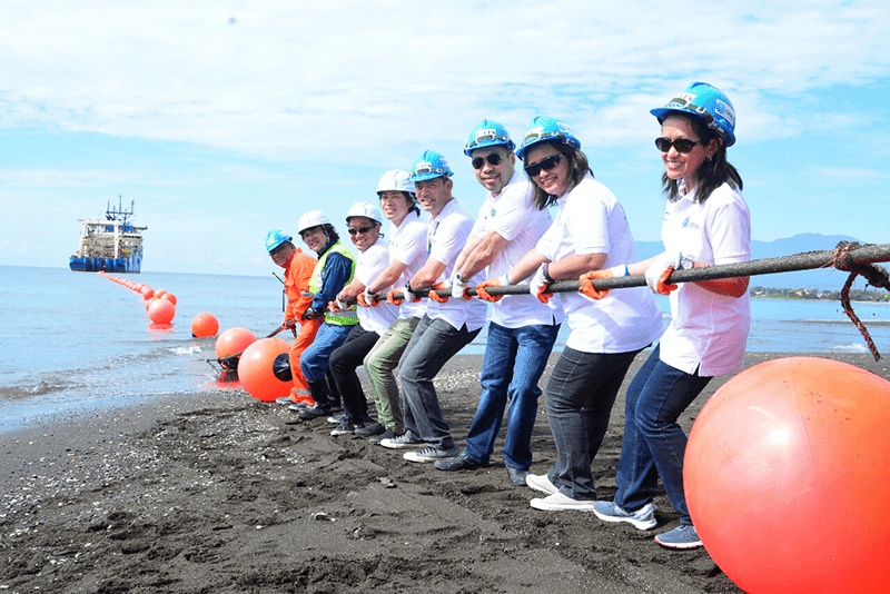 Globe SEA-US Fiber Optic Cable Landed In Davao!