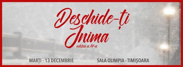 """Concert """"Deschide-ti inima"""" la Timisoara (13 decembrie 2016)"""