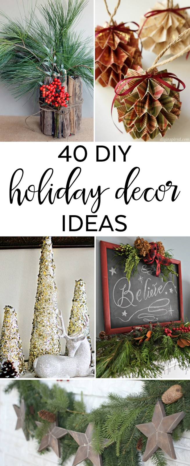 Life With 4 Boys 40 Holiday Decor Ideas To Spruce Up Your