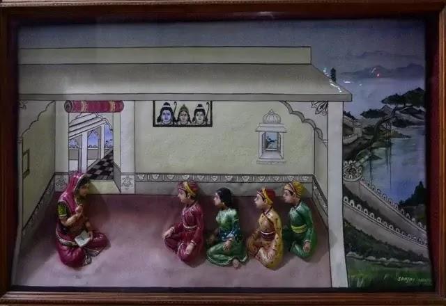 Maharana Pratap mother jaiwanta bai giving lessons