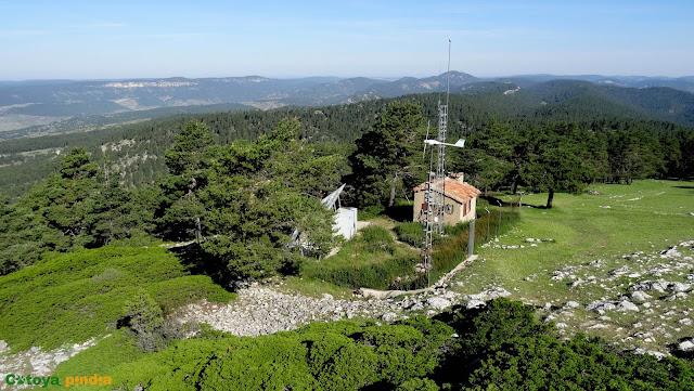 Ruta al Cerro Mogorrita, techo de Cuenca en la Sierra de Valdeminguete, en la Serranía de Cuenca.