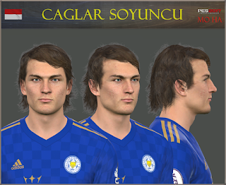 PES 2017 Faces Çağlar Söyüncü by Mo Ha