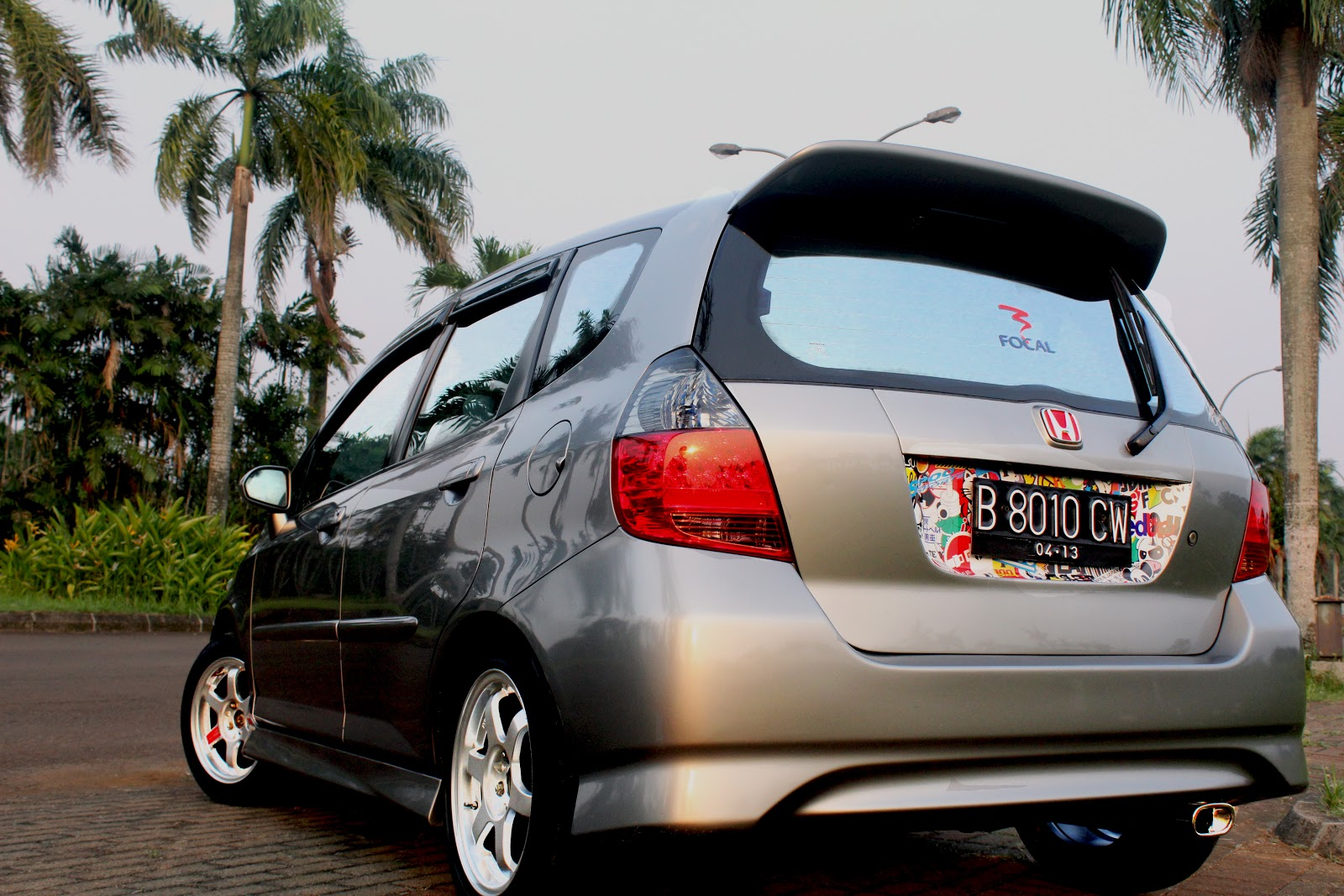 Honda Jazz GD3 Simple & Clean