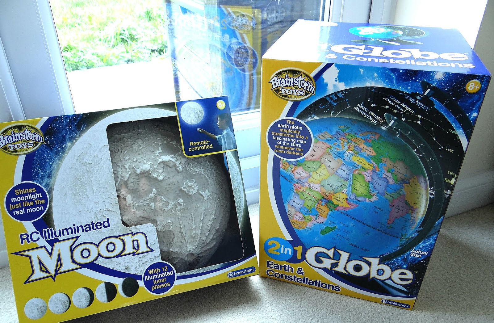 Educational Toys, Remote Control Illuminated Moon, Discovery toy