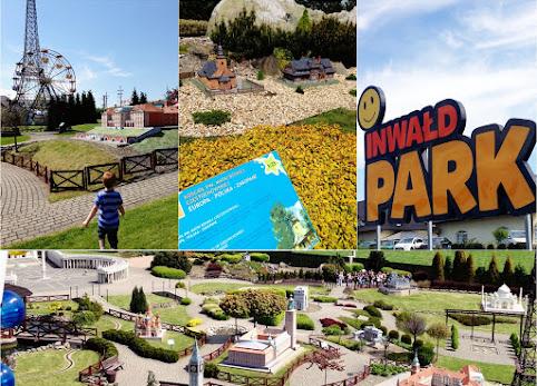 Park Miniatur Inwałd, wycieczka z przedszkolakiem, atrakcje, opinie, cena. Wakacje z dzieckiem w Polsce. Pomysł na wakacje.
