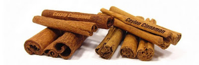 cassia cinnamon and Ceylon cinnamon sticks