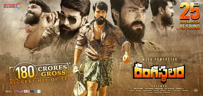 Rangasthalam (2018) Telugu WEB-DL HEVC 480P 720P 1080P 2K x264 | Ram Charan | Bsub Available