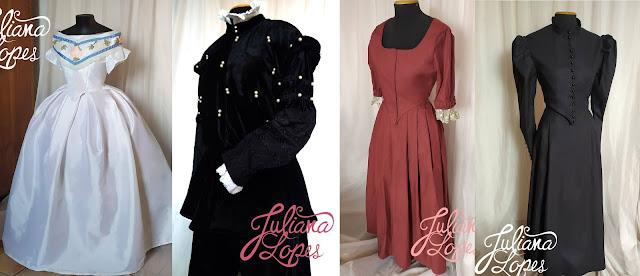 trajes históricos para encomenda