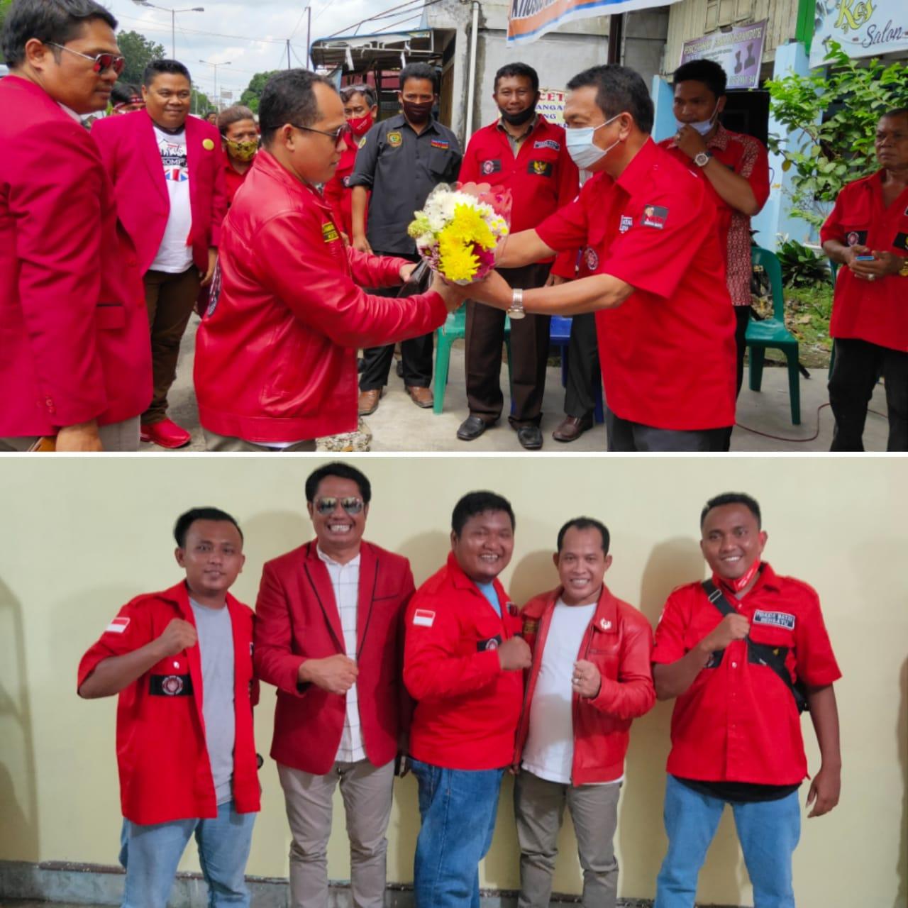 Ketua DPP Pemuda Batak Bersatu Sambangi DPC PBB Kota Tebing Tinggi