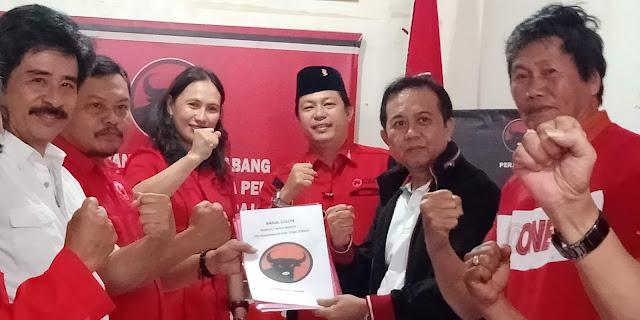 Sah! Herman Opy Sanda, Kader Partai PDI Perjuangan Akan Maju di Kursi Bacalon Bupati Tana Toraja