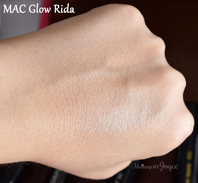 MAC Glow Rida Beauty Powder Good Luck Trolls Swatch