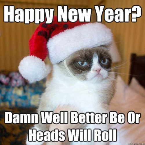 Happy New Year Memes 2019, Hilarious New Year Images GIF\'s, New Year ...