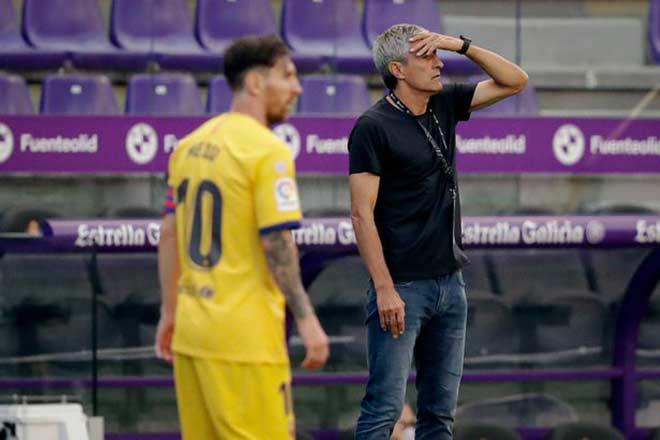 Barca mất ngôi La Liga: HLV Setien sắp bị sa thải ngay, Messi có ủng hộ?