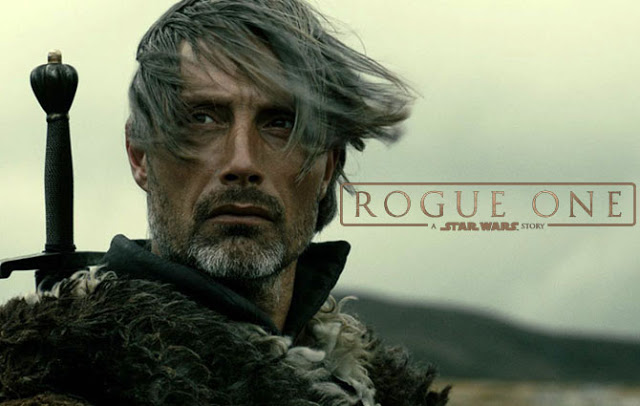 Mads Mikkelsen en Galen Erso dans Rogue One, a Star Wars Story