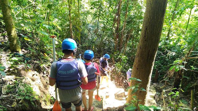 Jalur Sungai Ayung Bali