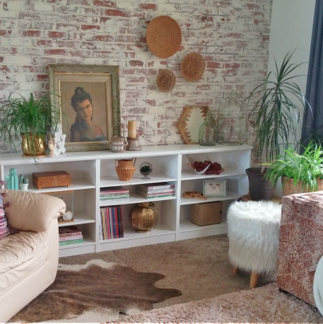 How to Create Stylish Built-ins from Simple Inexpensive Bookcases