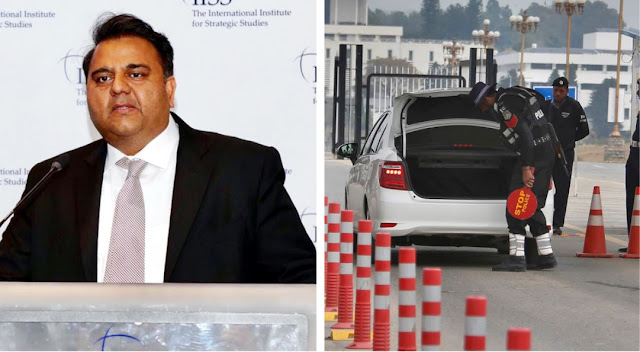 fawad chaudhry invites ideas to replace police checkpoint