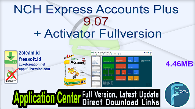 NCH Express Accounts Plus 9.07 + Activator Fullversion