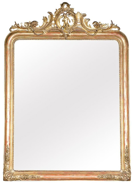 Lolo S French Bloguette Double Vision Louis Philippe Mirror