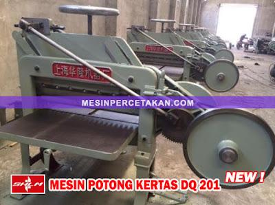 Mesin Potong Kertas DQ 201 BARU