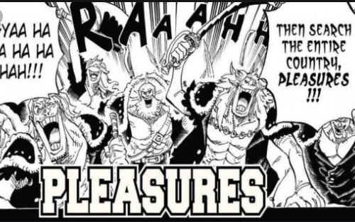 Spoiler manga one piece 956 - 3 lawan kuat Luffy