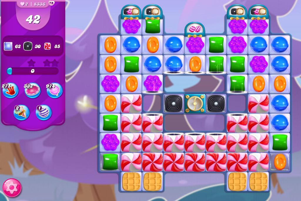 Candy Crush Saga level 8336