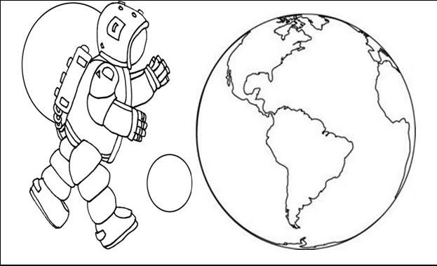 Uzay Boyama Sayfası Gazetesujin