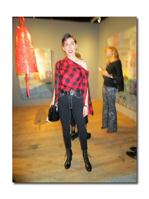52905e9e1c Erin Hazelton in Hellessy top and Khaite jeans