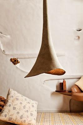 lamparas ornamentales de papel reciclado.