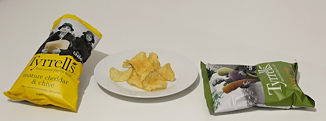 Tyrrells Vegetable Chips y Cheddar & Chives