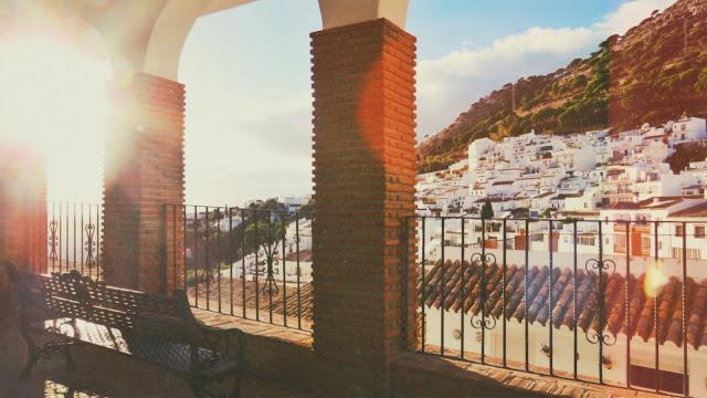 Vistas de casas de pueblo en Mijas
